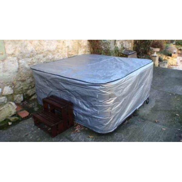 Quelle couverture pour prot ger un jacuzzi - Couverture spa exterieur ...