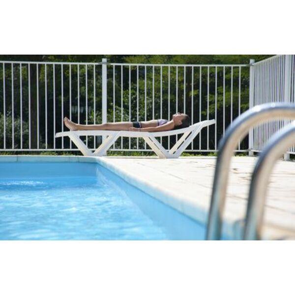 Rail de piscine pour la pose du liner - Pose d un liner pour piscine ...