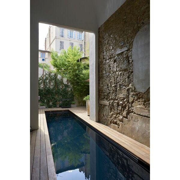 Couloir de nage carr bleu piscine enterr e piscines - Carre bleu piscine prix ...