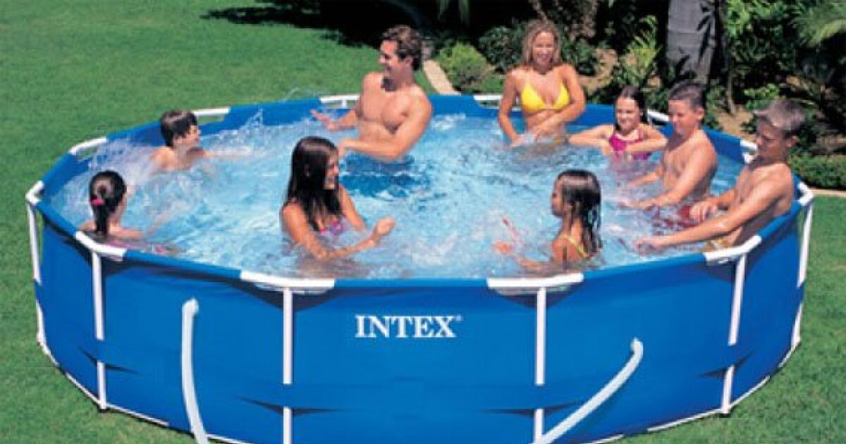 Le r chauffeur de piscine intex for Chauffage piscine intex