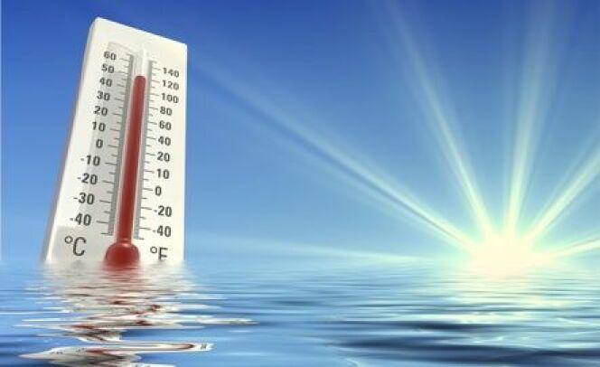 Parfois, l'eau de la piscine peu être trop chaude.