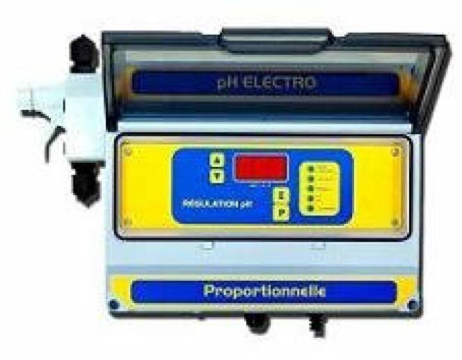 R gulateur ph automatique piscine melfrance - Piscine eau laiteuse ...