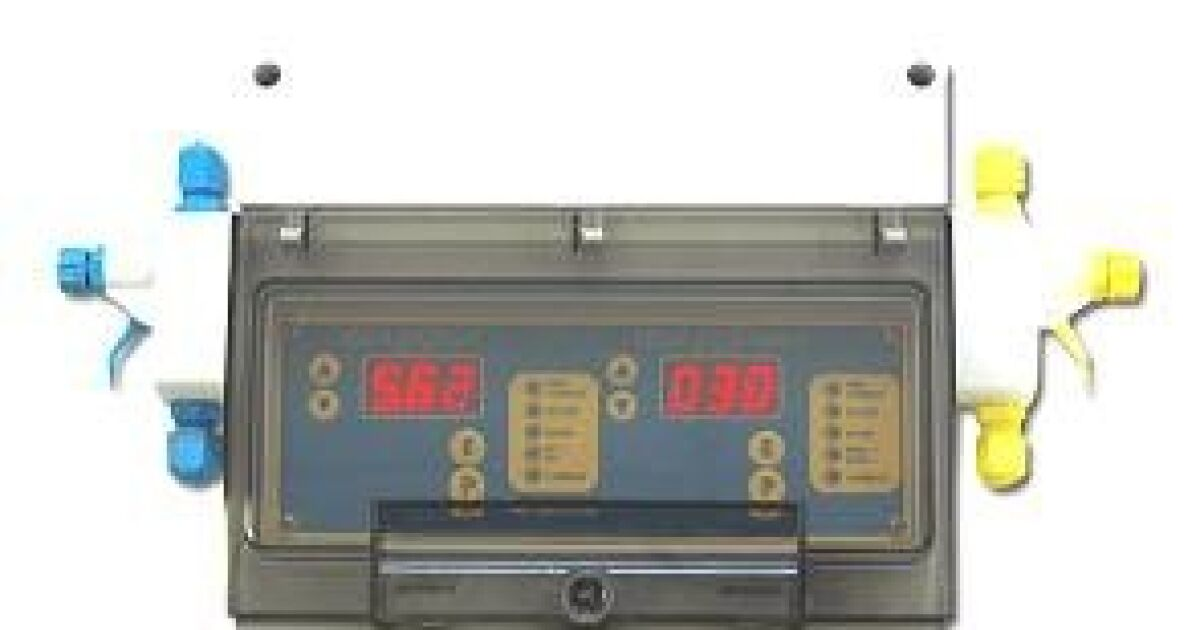 R gulateur ph redox automatique piscine melfrance for Regulateur ph et chlore piscine