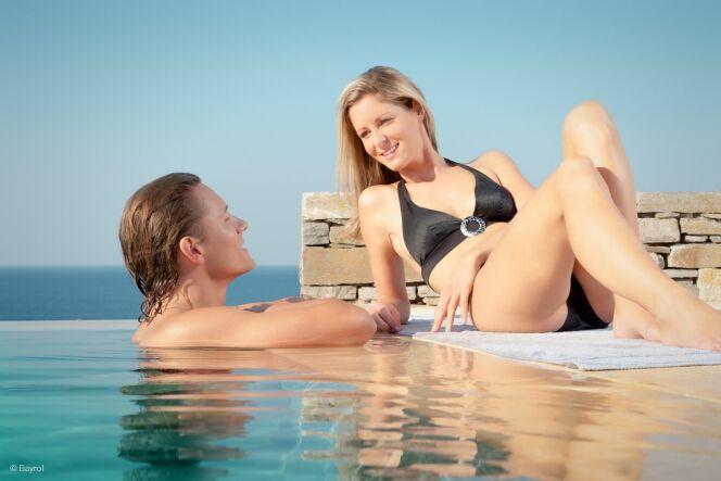 "Remettre votre piscine en route avec Bayrol<span class=""normal italic petit"">© Bayrol</span>"