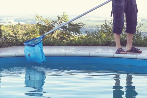 Remise en marche d'une piscine après l'hivernage