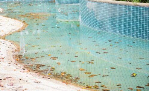 Rénover la structure d'une piscine