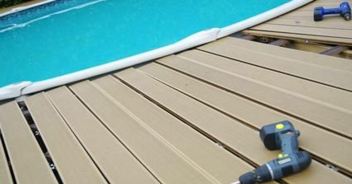 r nover une terrasse avec piscine. Black Bedroom Furniture Sets. Home Design Ideas