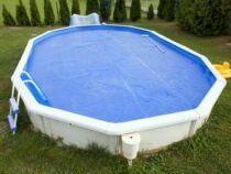 Réparer une bâche de piscine