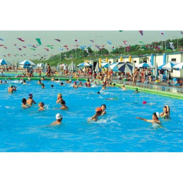 R ussir nager dans une piscine bond e for Apprendre a plonger dans une piscine