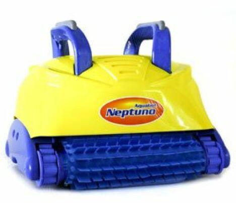 Robot autonome pour piscine neptuno aqualux for Robot aspirateur piscine autonome
