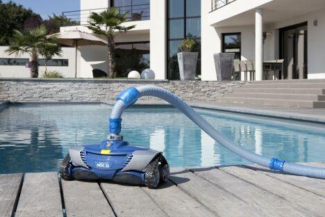 "Robot piscine hydraulique MX™ 8<span class=""normal italic petit"">© Zodiac</span>"