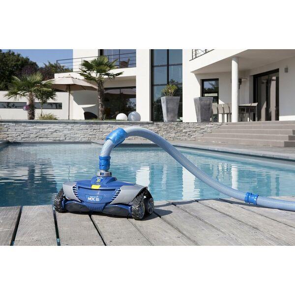 Robot piscine hydraulique mx 8 zodiac for Meilleur robot piscine hydraulique