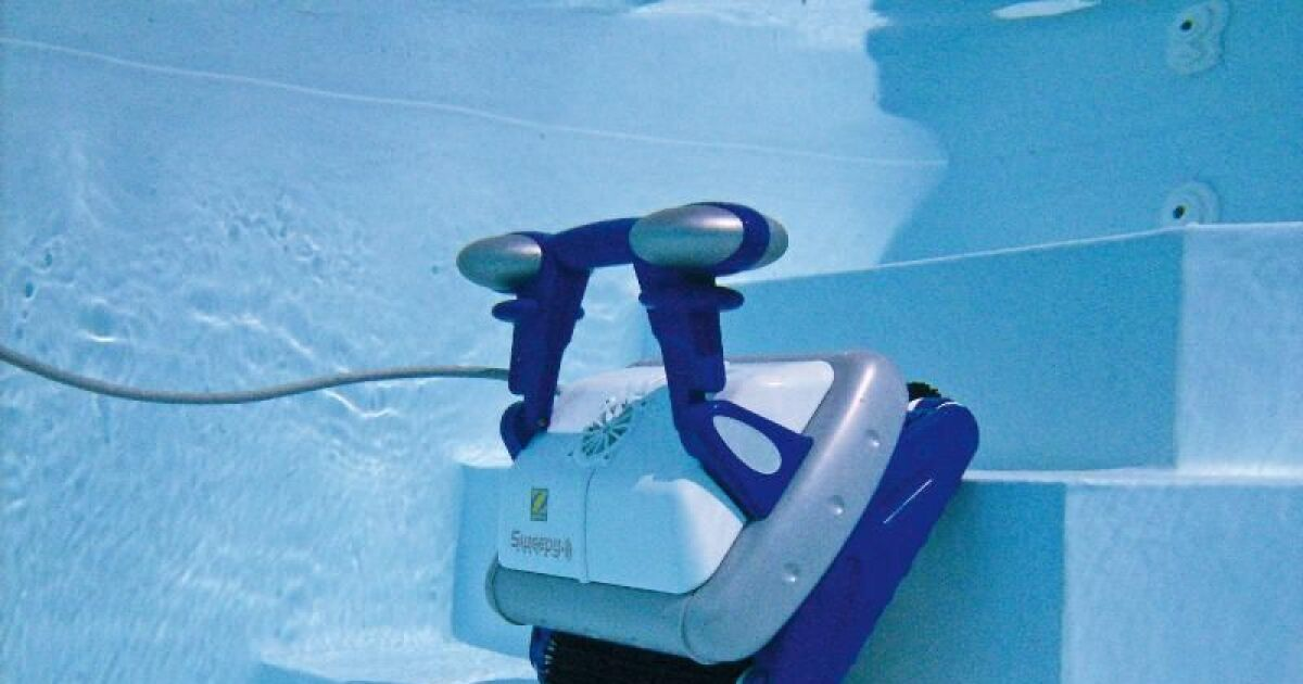 Robot piscine sweepy free zodiac for Robot pour piscine intex