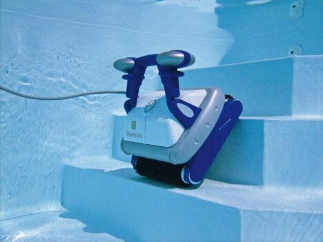 "Robot piscine Sweepy Free Zodiac<span class=""normal italic petit"">© Zodiac Pool Care</span>"