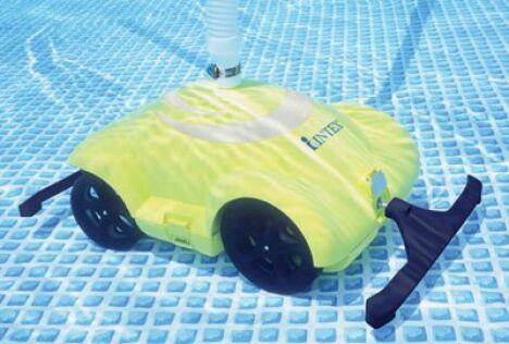 "Robot nettoyeur de fond piscine hors-sol<span class=""normal italic petit"">© Intex</span>"