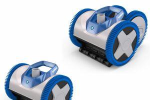 Les robots de piscine AquaNaut sont puissants et faciles à entretenir.