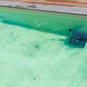 Rouille dans la piscine