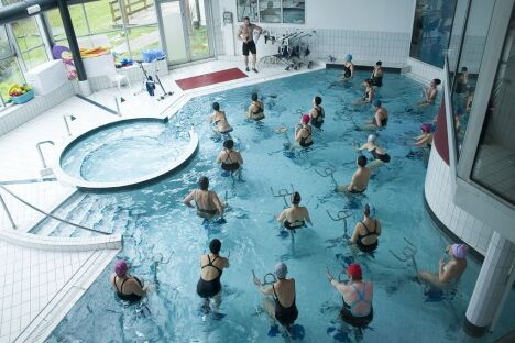 "Salle de fitness Wellness Sport Club à Besançon Ecole Valentin <span class=""normal italic petit"">DR</span>"