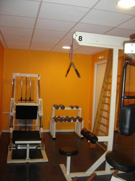 """Salle de musculation de l'hôtel<span class=""""normal italic petit"""">DR</span>"""