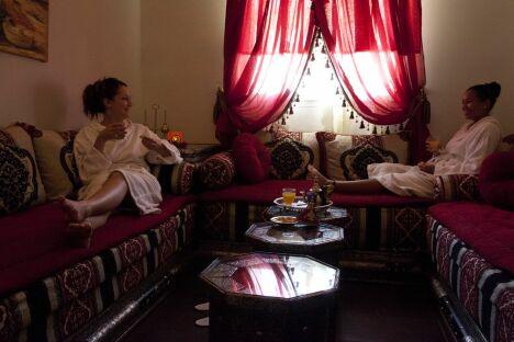 Salle de repos pour prolonger la détente