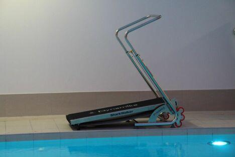 """Tapis de cours dans l'eau<span class=""""normal italic petit"""">© Le Palestre</span>"""