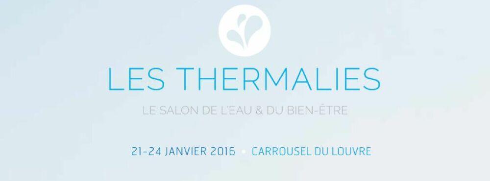 Salon des Thermalies, du 21 au 24 janvier 2016 © http://www.thermalies.com/