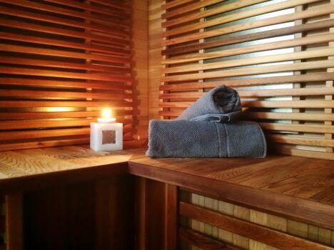 """Sauna au Délices de la Monnerie à Bourgnac<span class=""""normal italic petit"""">DR</span>"""
