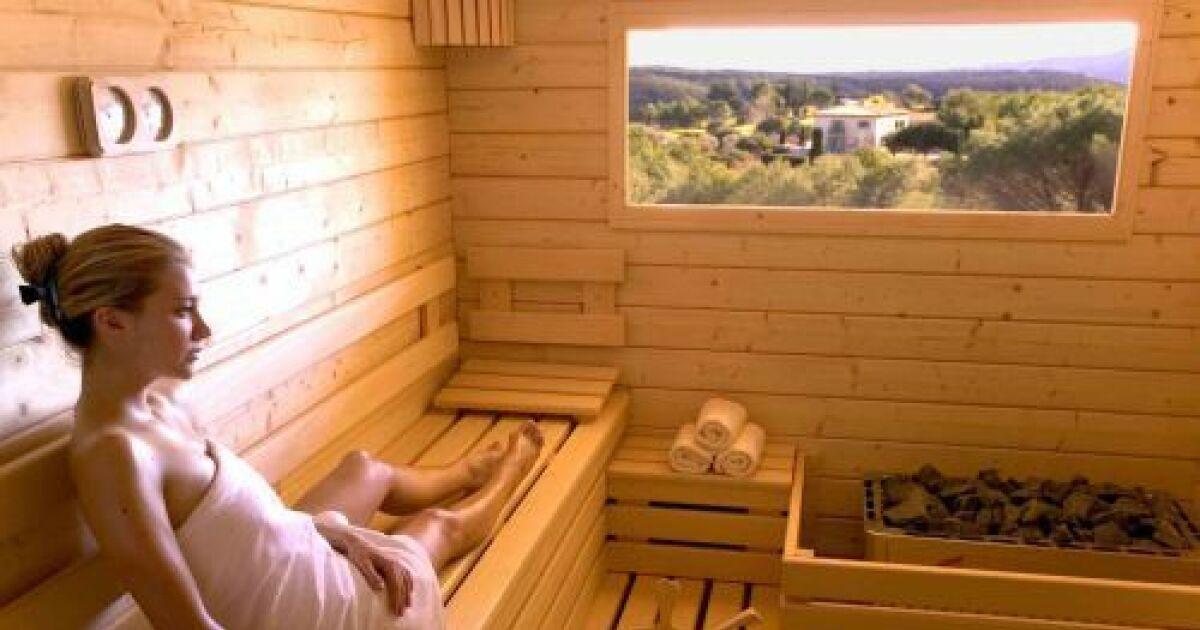 sauna combien de places. Black Bedroom Furniture Sets. Home Design Ideas
