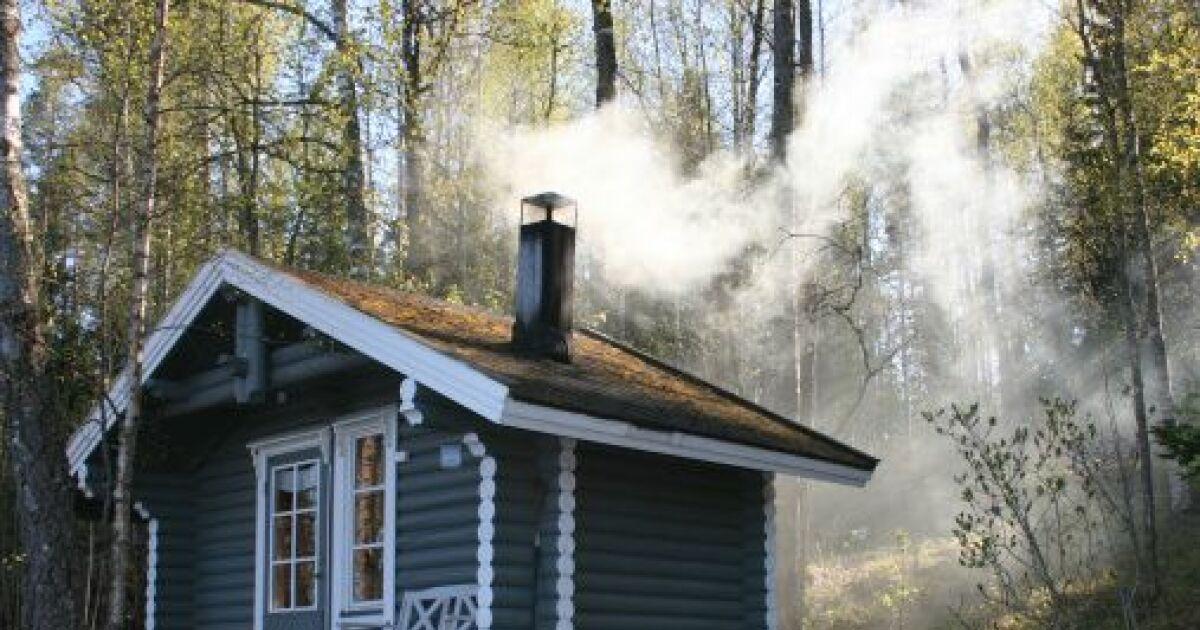 Le choix d 39 un sauna ext rieur - Hammam exterieur bois ...
