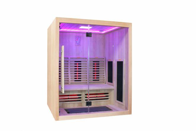 Sauna infrarouge Boreal 160, Boréal Sauna - Sauna infrarouge 3 places (160x120 cm)