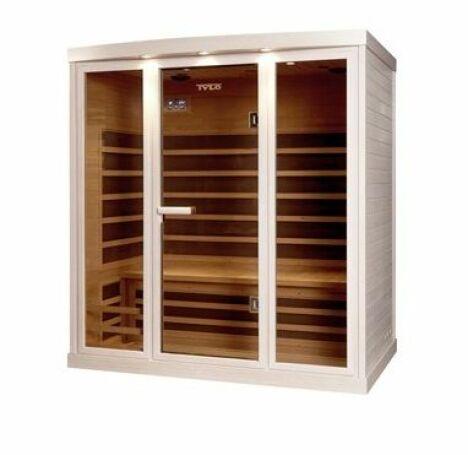 "Sauna infrarouge Carbon de Tylo<span class=""normal italic petit"">© Nordique France</span>"