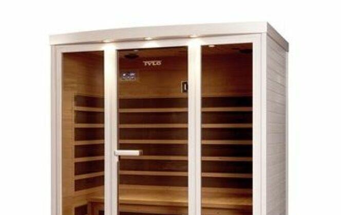 Sauna infrarouge Carbon de Tylo © Nordique France