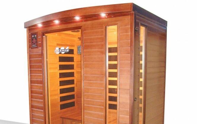 Sauna infrarouge Cedawarm 3 places de Warmeo © Warmeo