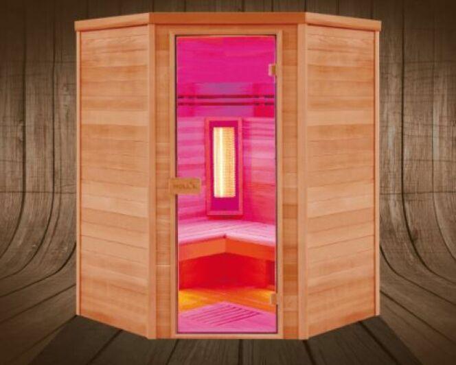 Sauna infrarouge Multiwave : nouveauté Poolstar 2018
