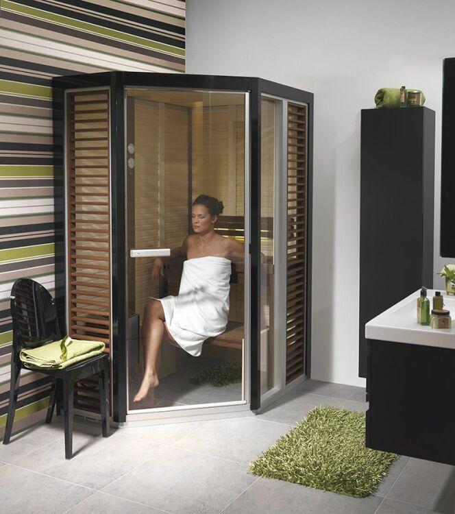 """Le sauna infrarouge peut être plus économique que n'importe quel autre type de sauna.<span class=""""normal italic petit"""">DR</span>"""