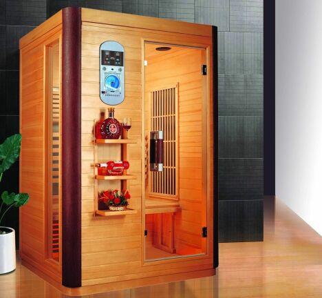 """Sauna infrarouge Prince 2 places<span class=""""normal italic petit"""">© France Sauna</span>"""