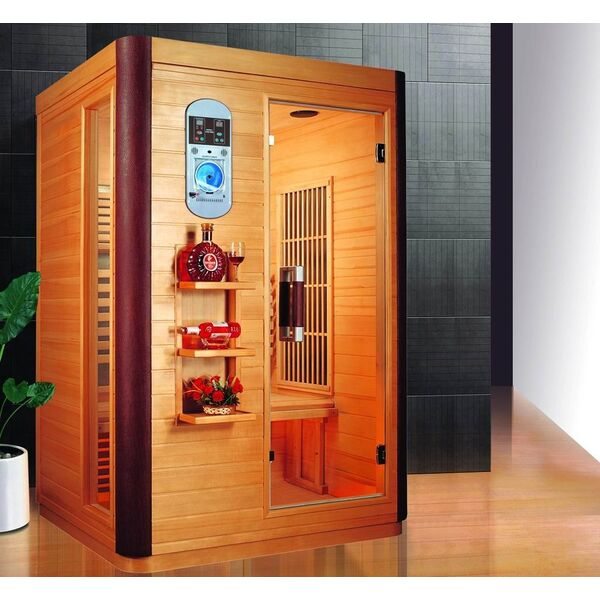 sauna infrarouge prince 2 places de france sauna. Black Bedroom Furniture Sets. Home Design Ideas