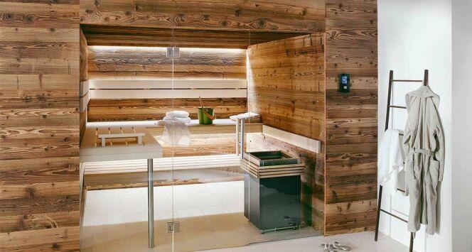 Sauna Lambris Design Plus, par Clairazur