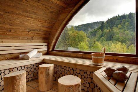 """Sauna Nature-Spa Cheneaudière<span class=""""normal italic petit"""">© Jérome Mondiere</span>"""