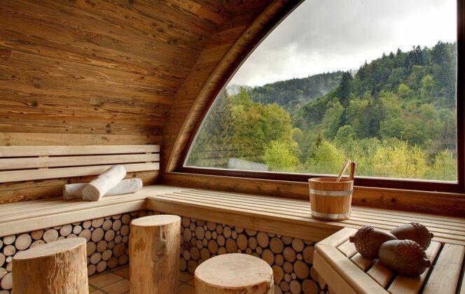 Sauna Nature-Spa Cheneaudière © Jérome Mondiere