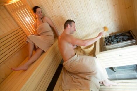 "Sauna Spa No Stress à Colmar<span class=""normal italic petit"">DR</span>"