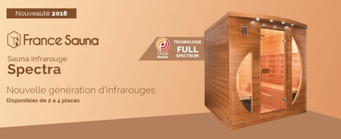 Sauna Spectra, par France Sauna