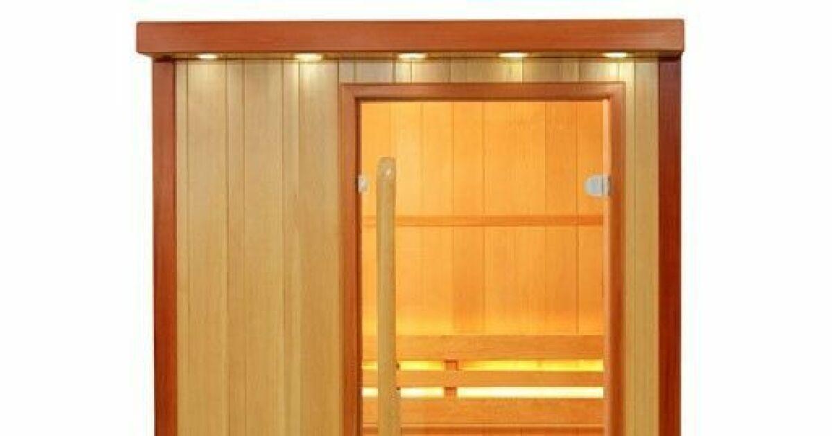 galerie photos notre s lection de saunas pour les particuliers sauna vapeur oulou 2 places. Black Bedroom Furniture Sets. Home Design Ideas