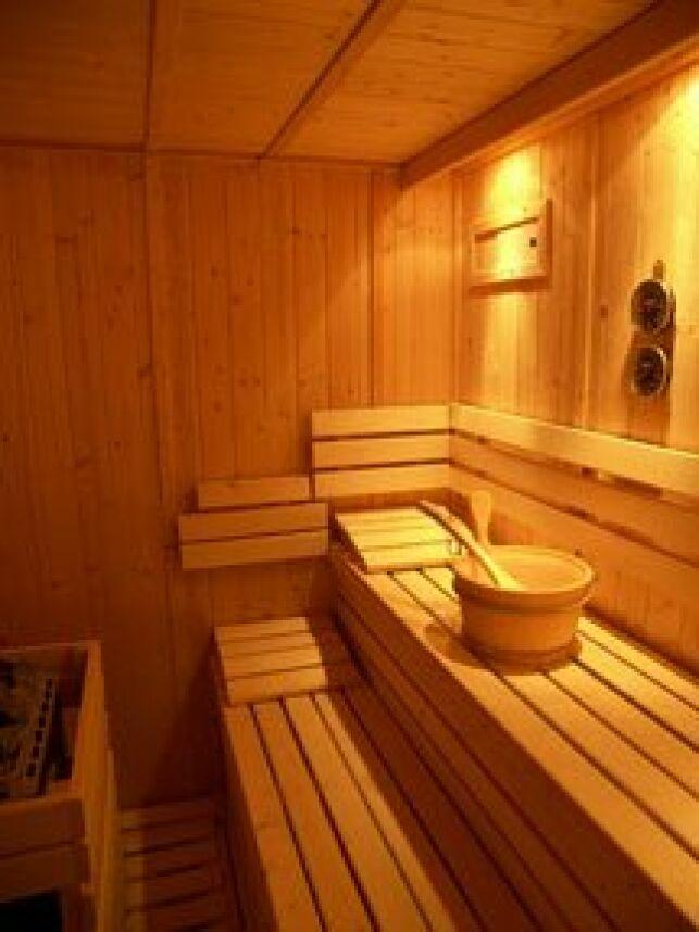 La sauna de la piscine d'Oissel