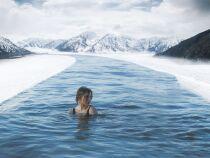 Se baigner en hiver