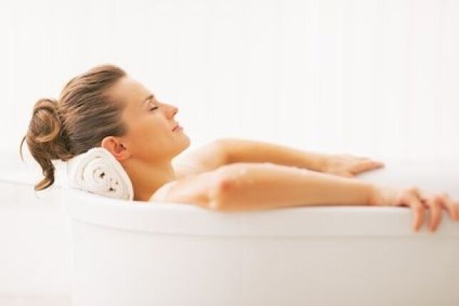 Même une baignoire toute simple peut vous procurer de longues heures de détente et de relaxation.