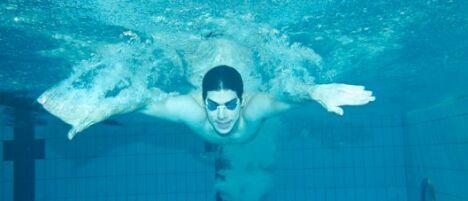 "Se muscler avec la natation<span class=""normal italic"">© Fotolia</span>"