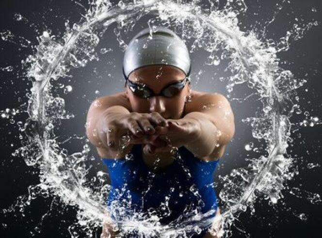 """Séance de natation : comment bien travailler le mental<span class=""""normal italic petit"""">DR</span>"""