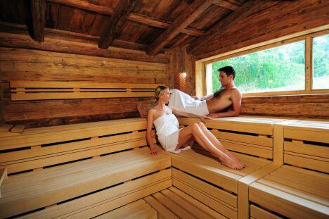 Seul ou à deux, profitez du sauna au spa Pur Attitude à Ottrott