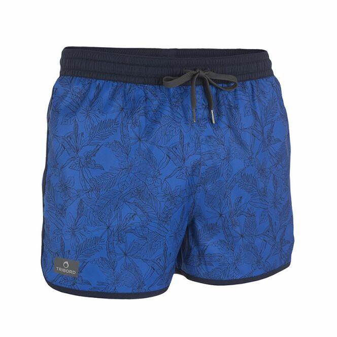 Short de bain bidarte bleu de la marque Tribord